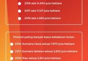 Cek fakta: Jokowi bilang, 3 tahun terakhir tak ada kebakaran hutan