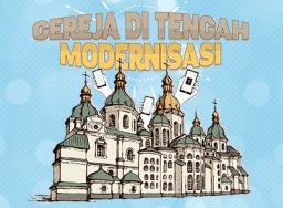 Gereja di tengah modernisasi