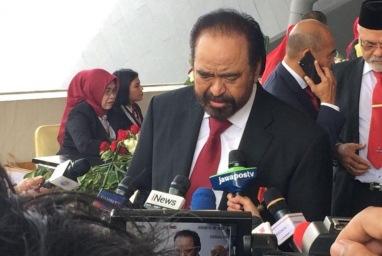 Surya Paloh: Hanya NasDem yang belum dapat bocoran kabinet