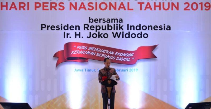Jokowi: Masyarakat masih percaya media konvensional