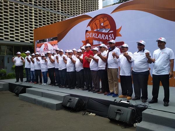 ASN, TNI dan POLRI teken MoU netralitas dalam pemilu 2019