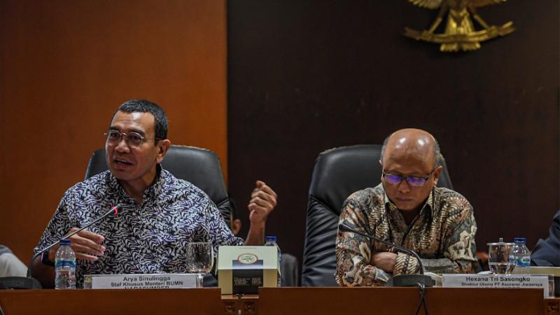 Kementerian BUMN masa bodoh dengan DPR ihwal Jiwasraya
