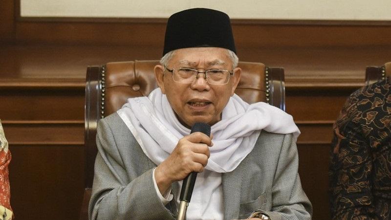 Sebut belum ada imam umat Islam, Ma'ruf Amin sindir FPI