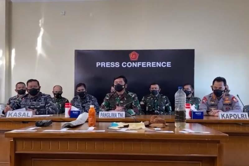 TNI nyatakan KRI Nanggala 402 tenggelam