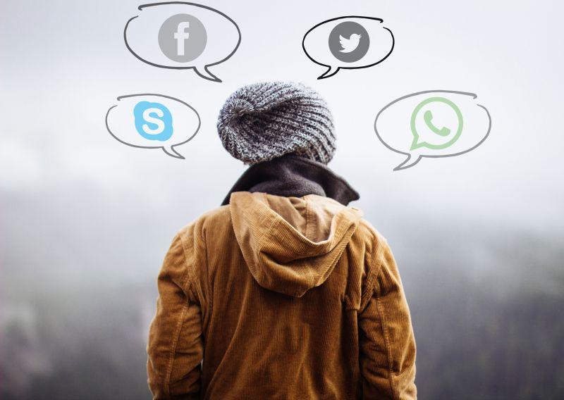Ilustrasi media sosial paling populer. Foto Pixabay